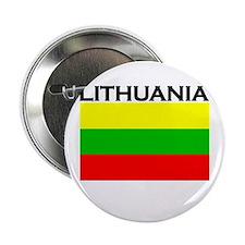 Lithuania Flag Button