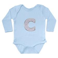 Sparkle Letter C Body Suit