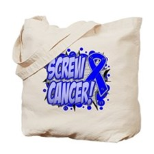 Screw Colon Cancer Tote Bag