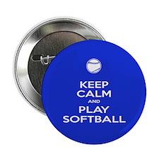 "Play Softball 2.25"" Button"