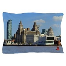 Liverpool Waterfront Pillow Case