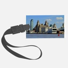Liverpool Waterfront Luggage Tag