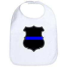 Blue Line Badge 1 Bib