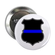 Blue Line Badge 1 Button