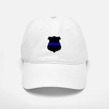 Blue Line Badge 1 Baseball Baseball Cap