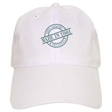 Made in 1981 Baseball Cap