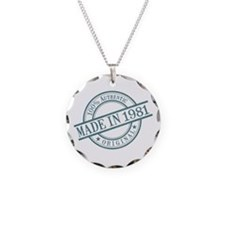 Made in 1981 Necklace