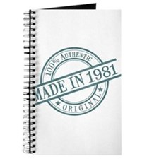 Made in 1981 Journal