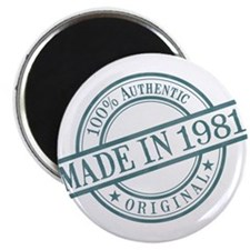Made in 1981 Magnet