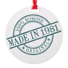 Made in 1981 Ornament