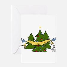 Feliz Navidad Greeting Cards