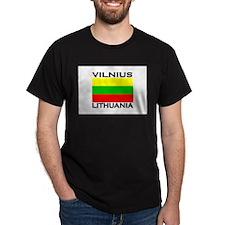 Vilnius, Lithuania Flag T-Shirt