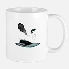 GhostChick Black Mugs