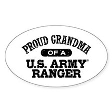 Army Ranger Grandma Decal