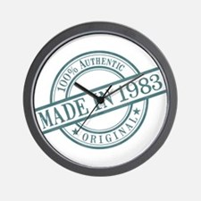 Made in 1983 Wall Clock