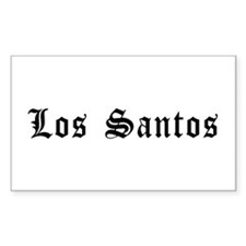Los Santos Sticker (rectangle)
