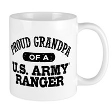 Army Ranger Grandpa Small Mug
