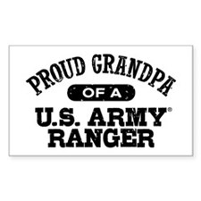 Army Ranger Grandpa Decal