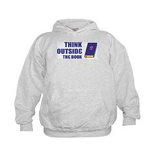 Outside the Book Hoodie