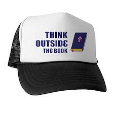 Outside the Book Trucker Hat