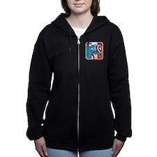 Captain Action Women's Zip Hoodie