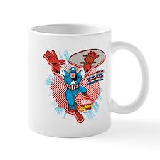 Captain America Attack Mug