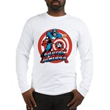 Captain america Long Sleeve T-shirts