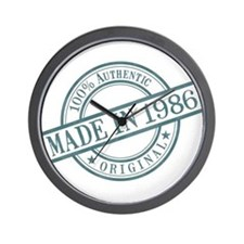 Made in 1986 Wall Clock