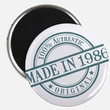 Made in 1986 Magnet