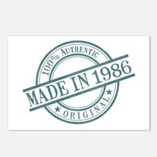 Made in 1986 Postcards (Package of 8)