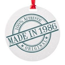 Made in 1986 Ornament