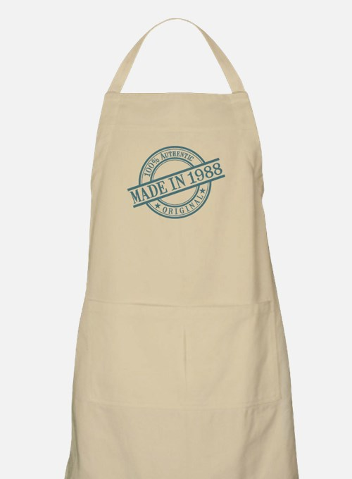 Made in 1988 Apron