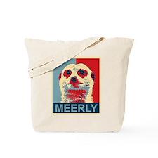 Meerly Meerkat Tote Bag