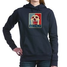 Meerly Meerkat Women's Hooded Sweatshirt