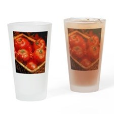 Tomatoes in April Drinking Glass