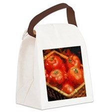 Tomatoes in April Canvas Lunch Bag