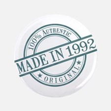 """Made in 1992 3.5"""" Button"""