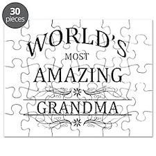 World's Most Amazing Grandma Puzzle