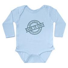 Made in 1994 Long Sleeve Infant Bodysuit