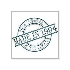 "Made in 1994 Square Sticker 3"" x 3"""