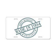 Made in 1994 Aluminum License Plate