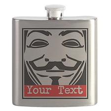 Custom Guy Fawkes Flask