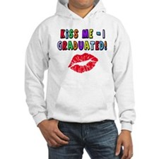 Kiss Me I Graduated with Lips Hoodie