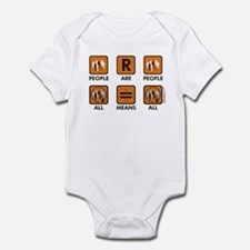 People are People Kids Infant Bodysuit