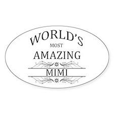 World's Most Amazing Mimi Decal