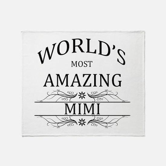 World's Most Amazing Mimi Throw Blanket