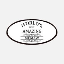 World's Most Amazing Memaw Patches