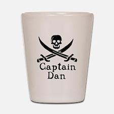 Captain Dan Shot Glass