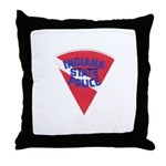 Indiana State Police Diver Throw Pillow