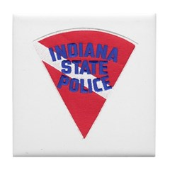 Indiana State Police Diver Tile Coaster